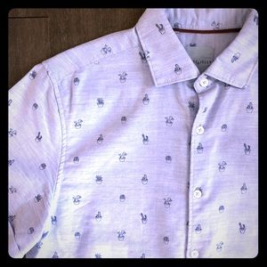 Steel & Jelly Men's SS Cactus Shirt L